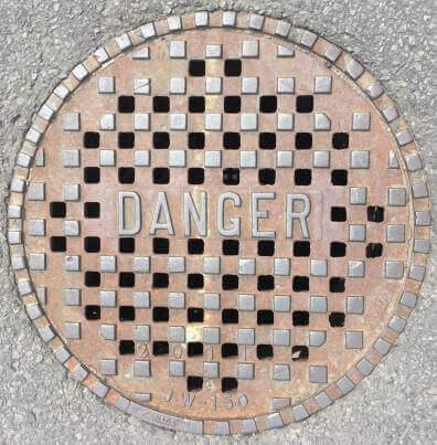 Danger-Zeichen